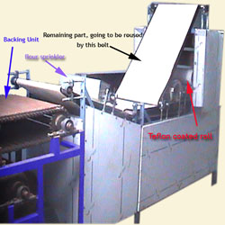 Fully Automatic Chapati making machine with roasting unit