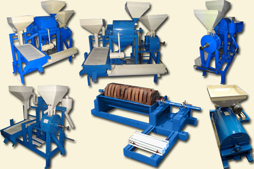 Grains, Pulse Processing plants and machines