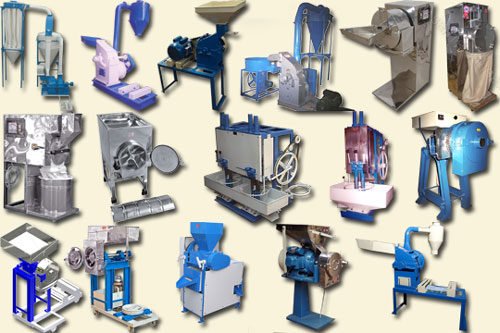 Industrial Pulverizers and hammer Mills